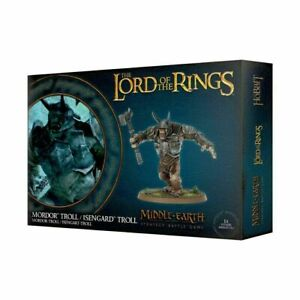 Lord of the Rings Mordor Troll / Isengard Troll 30-22