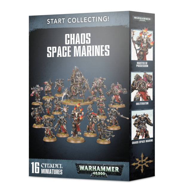 Start Collecting Chaos Space Marines 70-40