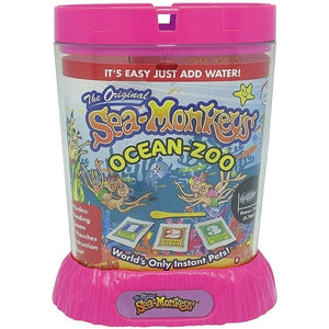 Sea Monkeys Ocean Zoo Pink