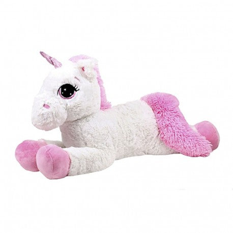 Unicorn Plush Toy Pink/White 70cm