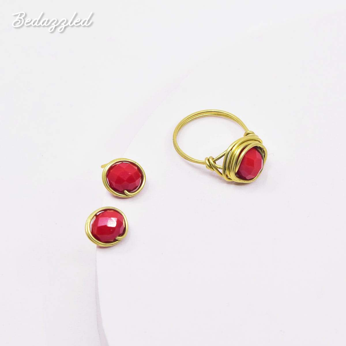 Bedazzling Red - Set of 2