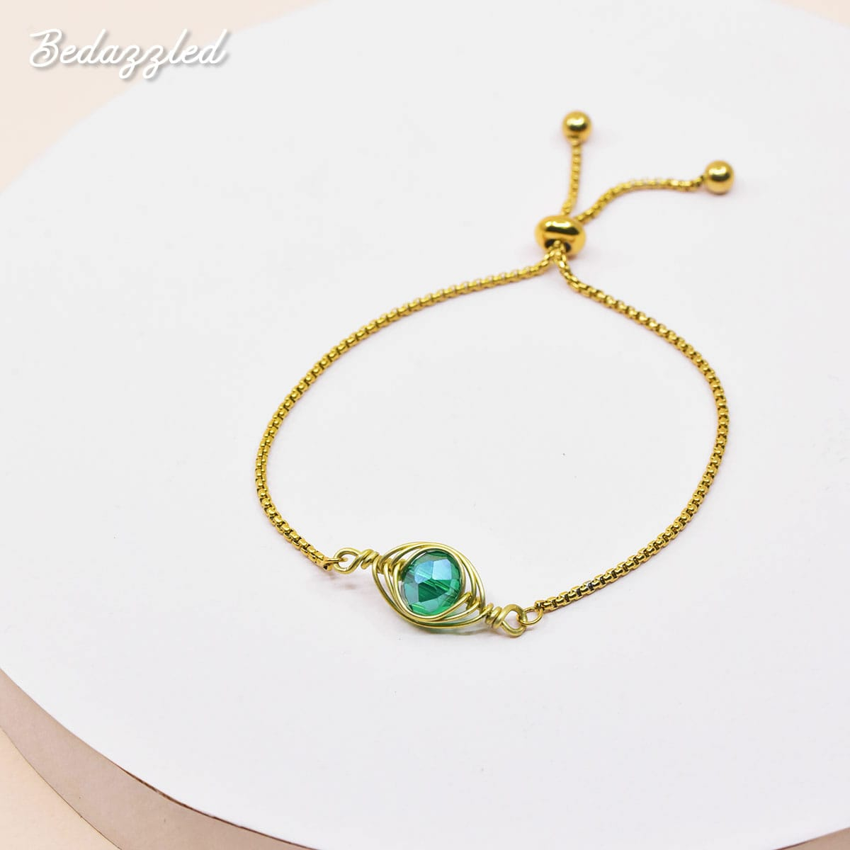 Bedazzling Sea Green - Bracelet