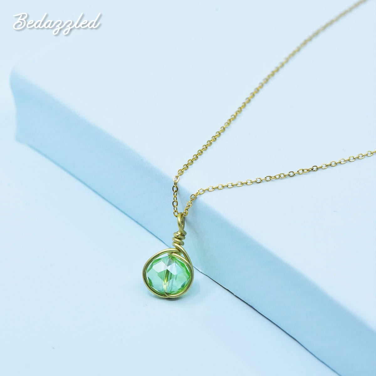 Bedazzling Green - Necklace