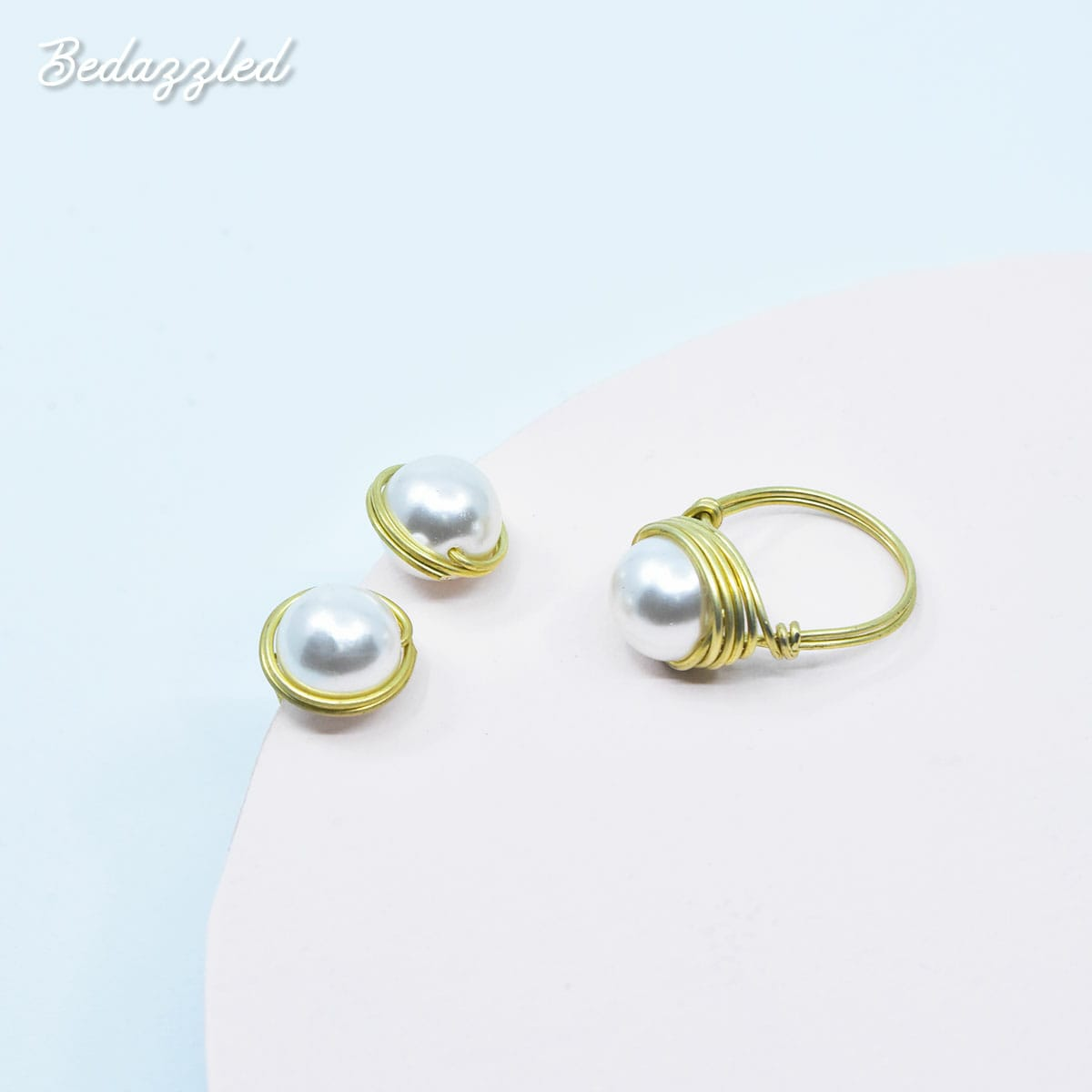 Bedazzling Pearl - Set of 2
