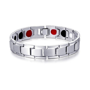 European And American Men'S Magnetic Bracelet Magnetic Hematite Titanium Steel Bracelet Detachable Bangle Men Jewelry Dropping
