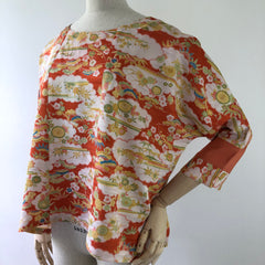 TOPS / round neck top