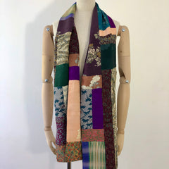 Scarf / long patchwork