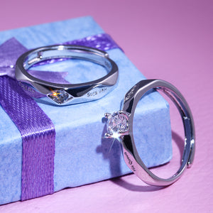 *Product Of The Month* Huitan Couple Rings - [Lovely_Givings]