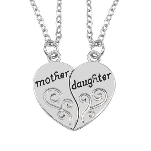Mother & Daughter Necklace - [Lovely_Givings]