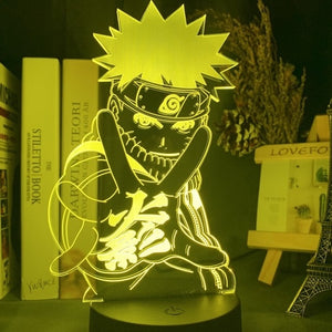 Naruto Multicolor LED Lamp - [Lovely_Givings]