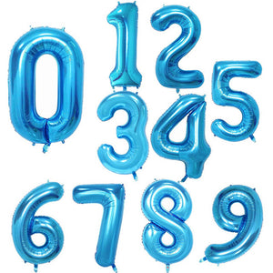 Celebration Baloons With Numbers - [Lovely_Givings]