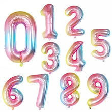 Ladda upp bild till gallerivisning, Celebration Baloons With Numbers - [Lovely_Givings]
