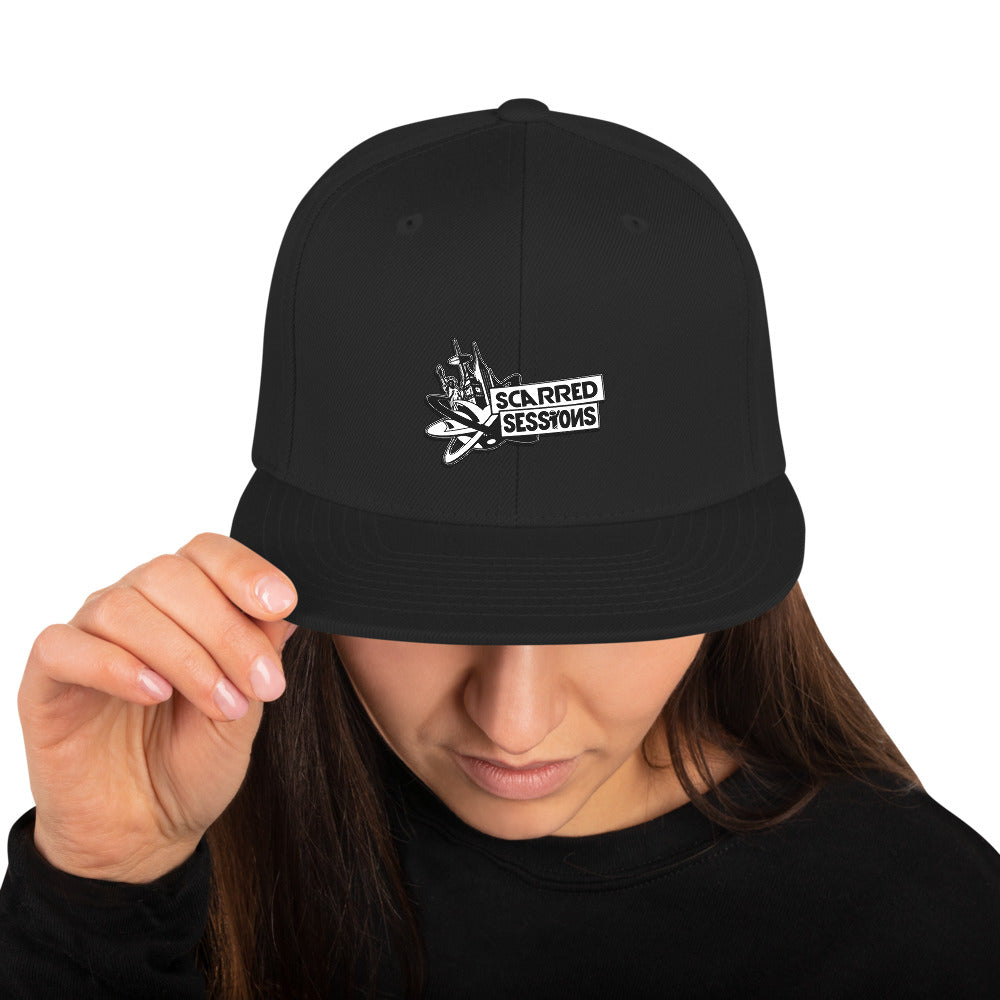 Scarred Sessions Snapback Hat