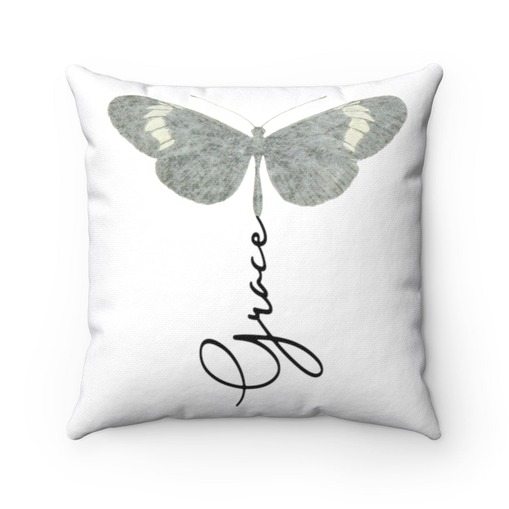 GRACE Spun Polyester Square Pillow