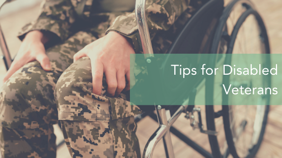 7 Tips for Disabled Veterans