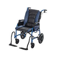 Proper Posture Wheelchair with Leather Seat | FLUX Strongback Package