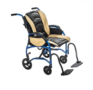 Open image in slideshow, Proper Posture Wheelchair with Leather Seat | FLUX Strongback Package