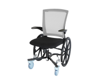 "Lightweight Narrow Slim-Line Indoor Wheelchair - 21.75"" wide 