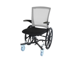 "Open image in slideshow, Lightweight Narrow Slim-Line Indoor Wheelchair - 21.75"" wide 