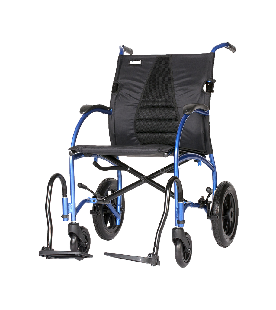 Lightweight Folding Travel Wheelchair for Proper Posture | FLUX Strongback