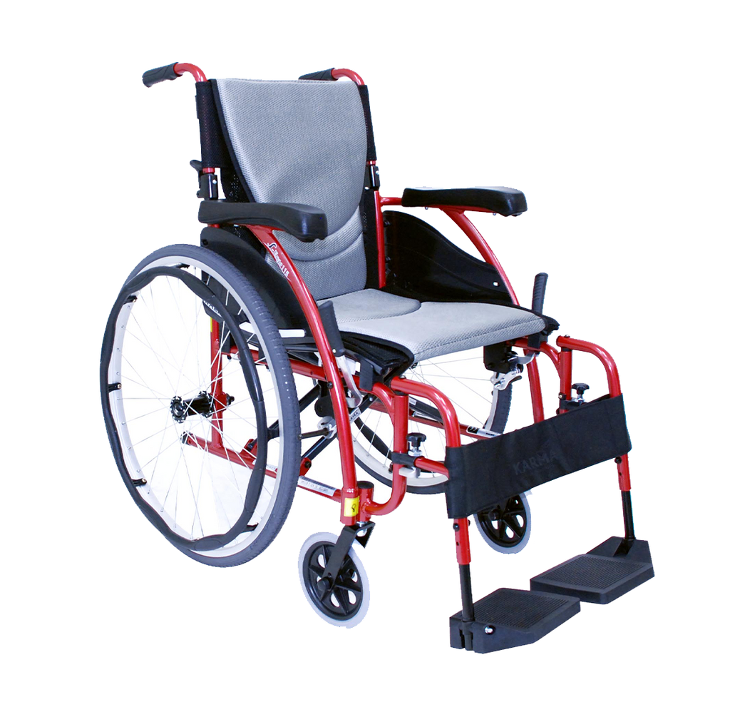 Durable Folding Lightweight Travel Wheelchair | FLUX Economy Plus