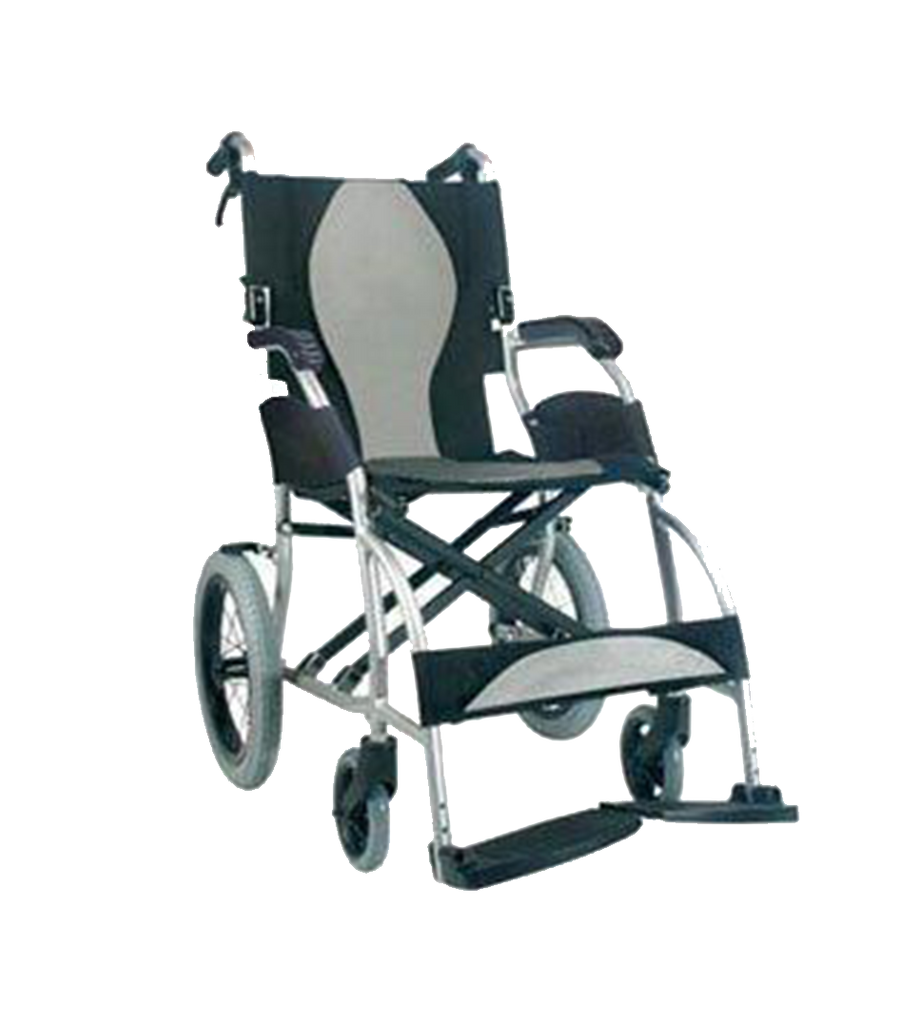 Folding Ultra-Lightweight Travel Wheelchair only 18lbs | FLUX Economy