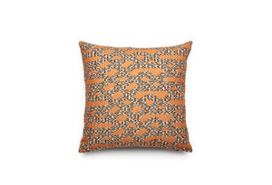 Poppy ginger cushion