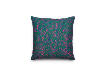 Poppy moss cushion