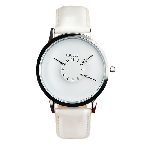 White Panther | Leather Strap | 40 mm