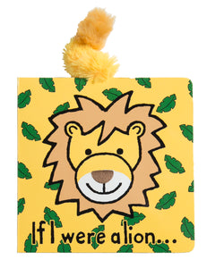 "Jellycat: ""If I Were a Lion"" Book"
