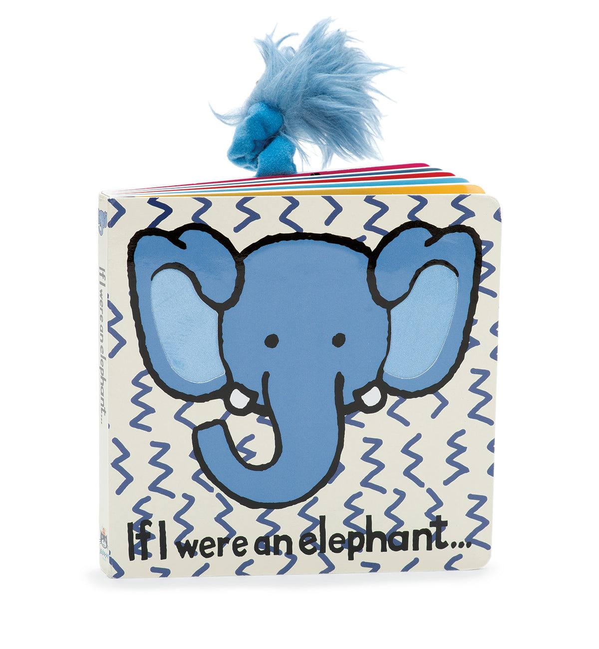 "Jellycat: ""If I Were an Elephant"" Book"
