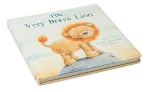 "Jellycat: ""The Very Brave Lion"" Book"