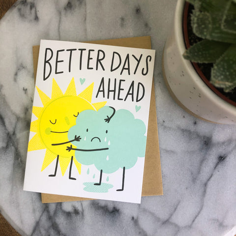 Hello! Lucky - Better Days Ahead Card