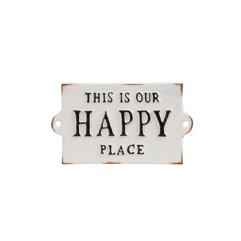 Indaba: Our Happy Place Sign