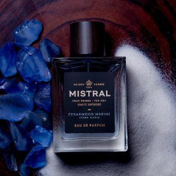 Mistral for Men:  Eau de Parfum For Men - Cedarwood Marine