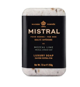 Mistral for Men: Bar Soap - Mezcal Lime