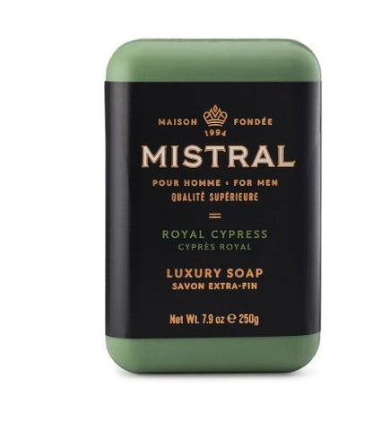 Mistral for Men: Bar Soap - Royal Cypress
