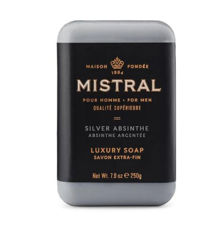 Mistral for Men: Bar Soap - Silver Absinthe