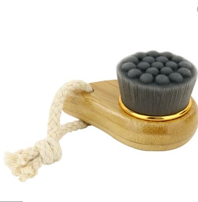 Relaxus:  Bamboo Charcoal Facial Brush