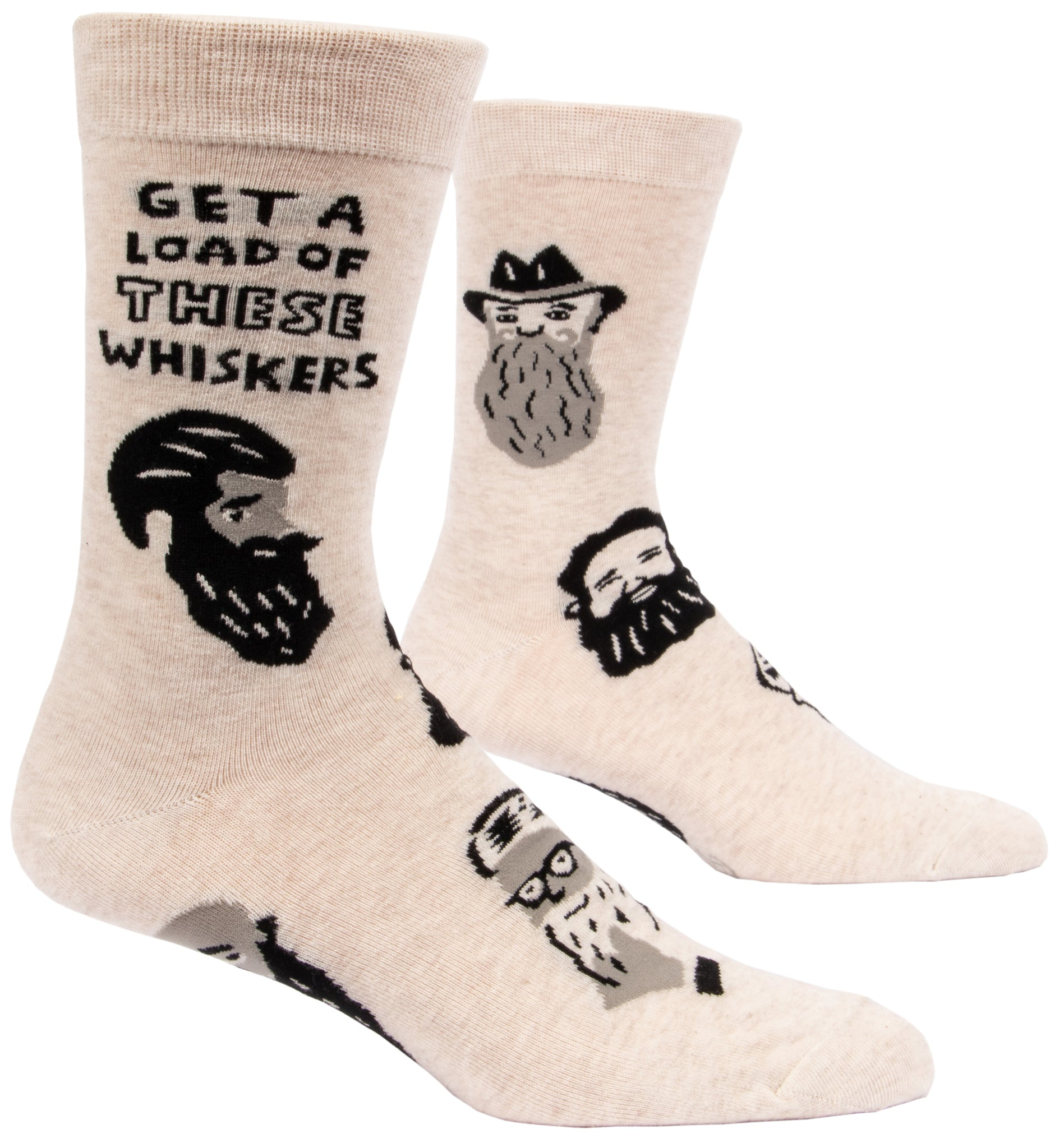 Blue Q: Men's Novelty Socks - Whiskers
