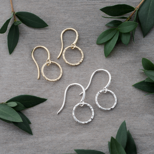 Glee: Joy Earrings - Silver or Gold