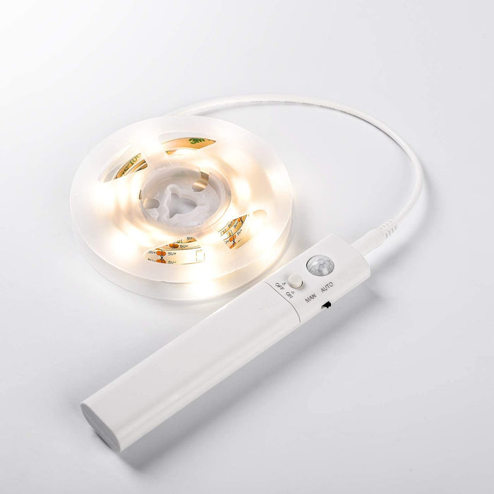GZBtech 3000K 3.28FT 12V Motion Sensor LED Strip light
