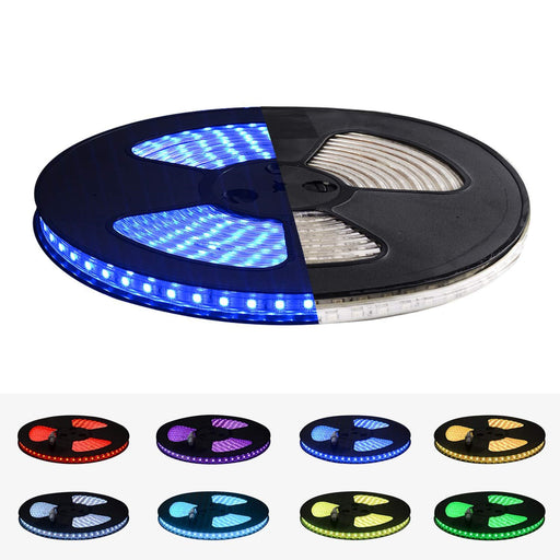 GZBtech 110V 32.8FT/10M RGB LED Strip Light