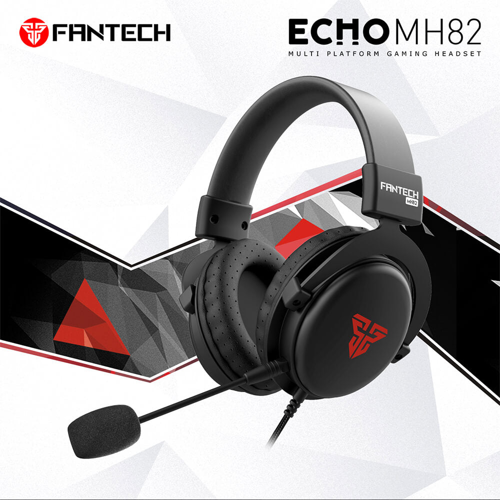 Casque Gamer FANTECH MH82 Gaming Headset - Casque Gamer - Setup Gaming - Gearzone.ma | N°1 du Gaming au Maroc