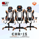 Chaise Gamer MeeTion White 180 ° Adjustable Backrest- Gaming Chair - Setup Gaming - Gearzone.ma | N°1 du Gaming au Maroc
