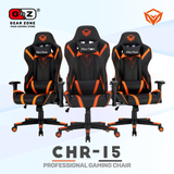 Chaise Gamer MeeTion Black 180 ° Adjustable Backrest- Gaming Chair - Setup Gaming - Gearzone.ma | N°1 du Gaming au Maroc