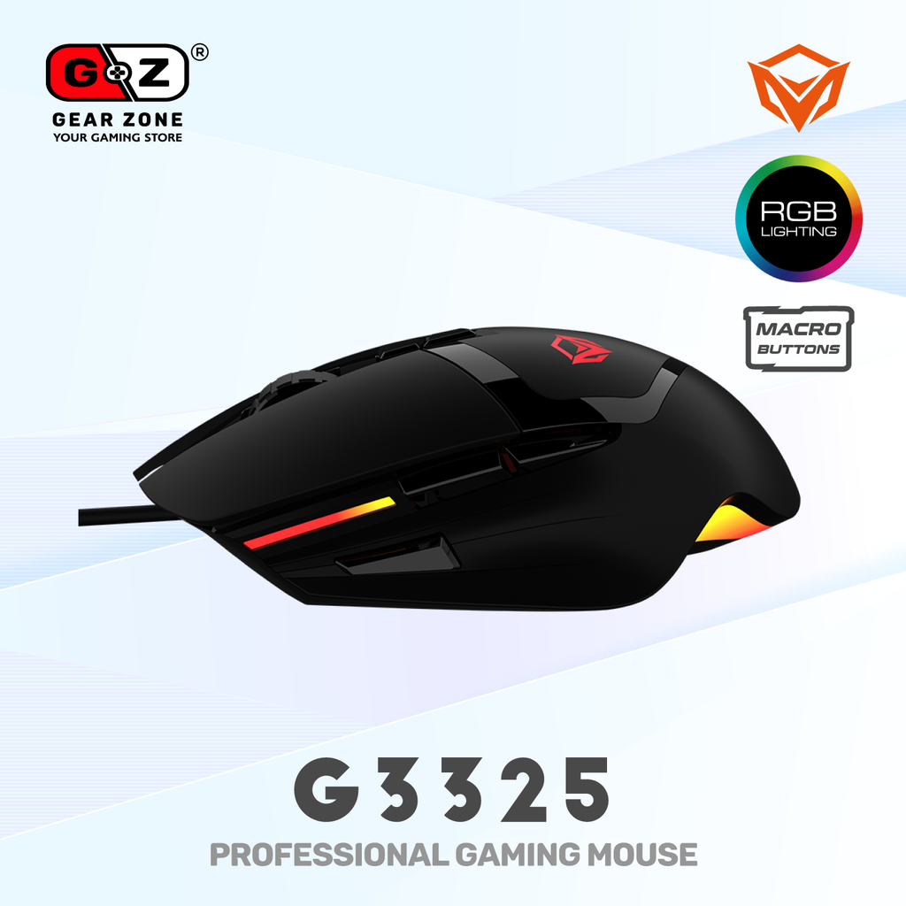 Souris Gamer MeeTion G3325 Gaming Mouse - Souris Gamer - Setup Gaming - Gearzone.ma | N°1 du Gaming au Maroc