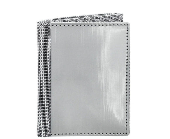 Stainless Steel Tri-Fold Wallet