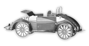 assembled beach buggy metal model