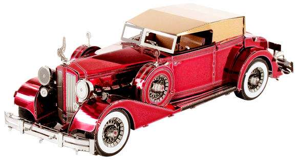 1934 Packard Twelve Convertible 3D Metal Model